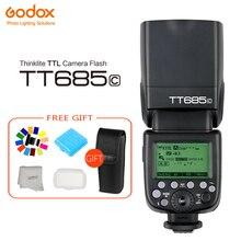 купить Godox TT685 TT685C TT685N TT685S TT685F TT685O Flash TTL HSS Camera Flash speedlite for Canon Nikon Sony Fuji Olympus Camera дешево
