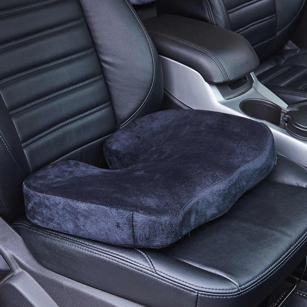 Travel Car Seat Cushion Coccyx Orthopedic Memory Foam U-Type Chair Cushion  Pad for Home Office Massage Cushion