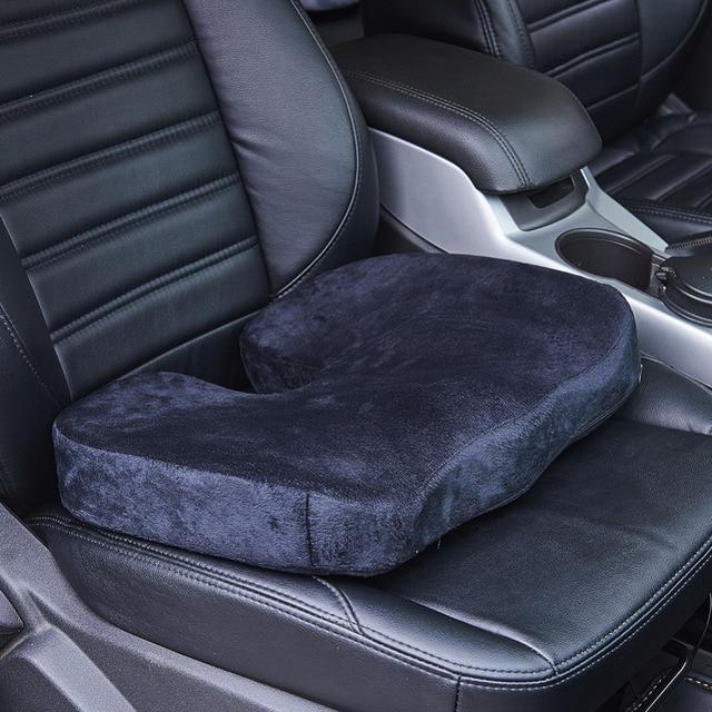 Travel Car Seat Cushion Coccyx Orthopedic Memory Foam U Type Chair