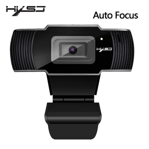 Image 1 - HXSJ new webcam HD1080P 30FPS auto focus computer camera USB sound absorbing microphone for laptops web cam