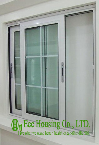 Aluminum Glass Sliding Window For Villa Projects,aluminum Profile Sliding Windows With Grilled Design,horizontal Sliding Windows