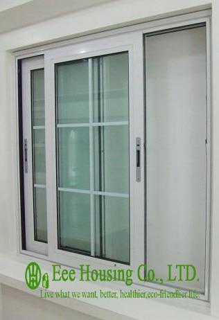 Aluminum Glass Sliding Window For Villa Projects Aluminum