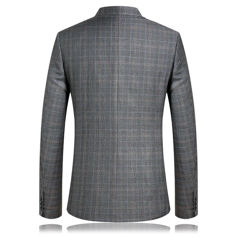 KOLMAKOV 2019, мужские повседневные блейзеры, приталенный, роскошный, для выпускного, пиджак, Homme, Весенняя мода, блейзер для мужчин, блейзер цвета ... - 5