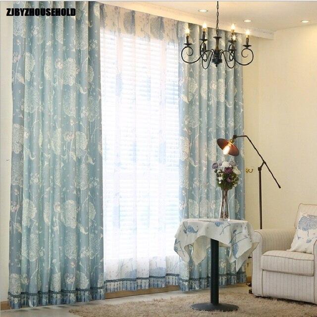 Cortinas para Living comedor dormitorio moderno chino imitación ...