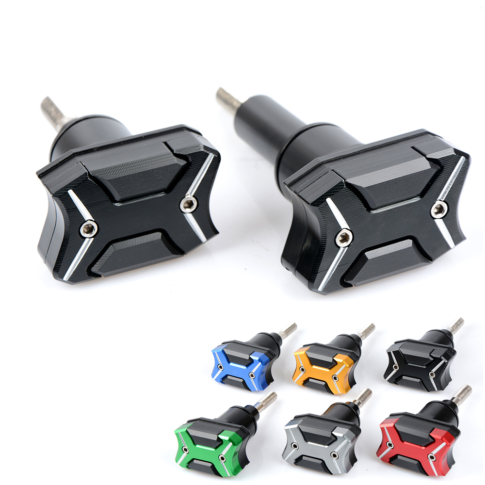 CNC Aluminium Motorcycle Frame Sliders Crash Engine Guard protection Side Shield Protector For Yamaha YZF R1 2015 2016 2017 2018