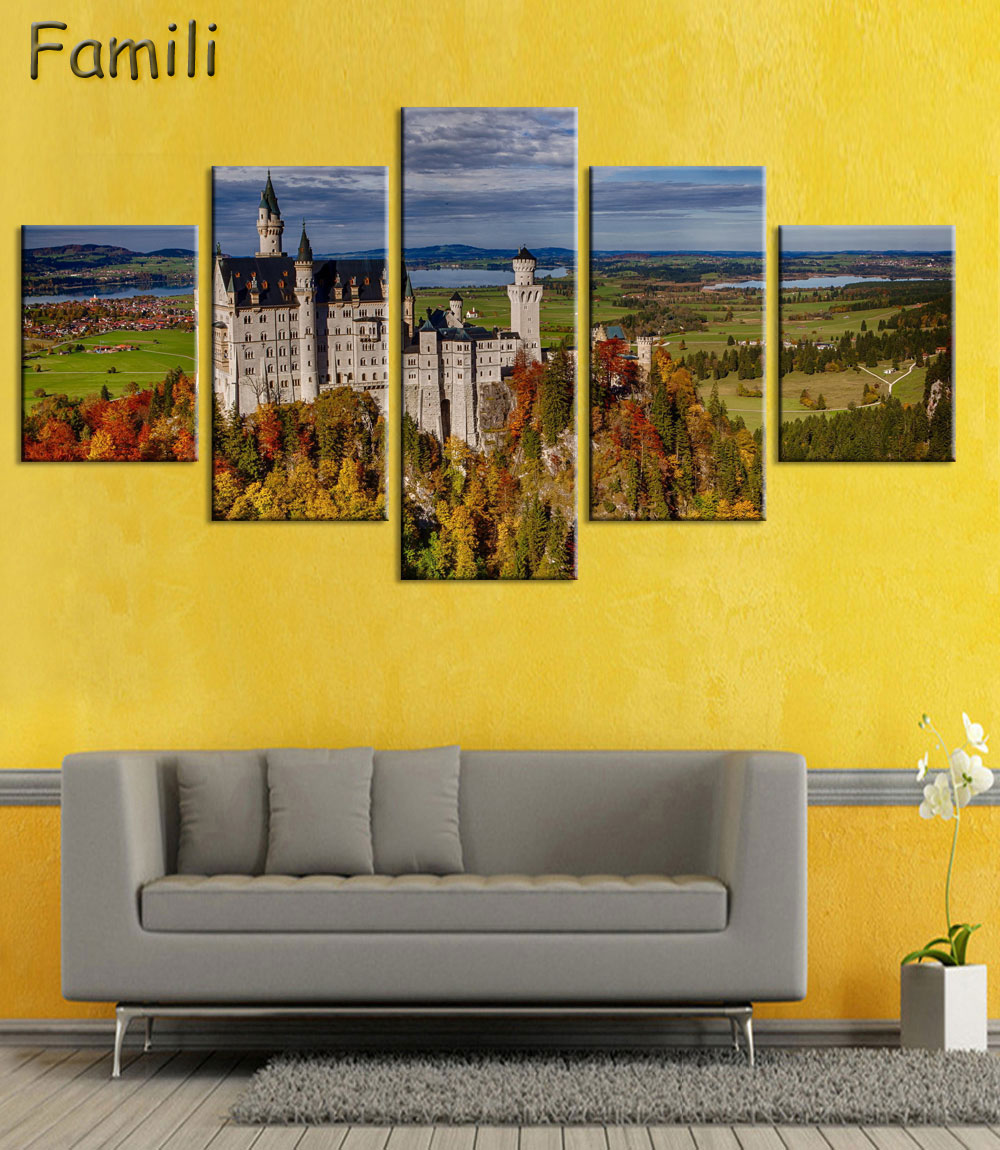Living room bedroom home wall Art decoration fabric poster ...