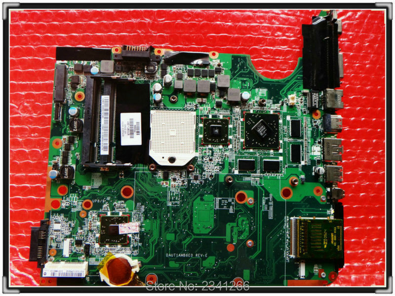 ФОТО 571187-001 for HP PAVILION DV6Z-2000 NOTEBOOK DAUT1AMB6E0 /E1 DV6 DV6-2000 Laptop Motherboard  for AMDS1 Non-Integrated - Good