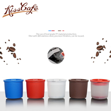 3PC/lot Reusable Capsule 304 Stainless Steel Silicone Cycle Refillable Coffee Filter Fit for illy Machine Maker