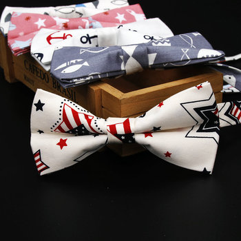 Boy's Printed Cotton Bow Tie 3