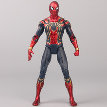 17cm Spider-Man Model  Avenger Alliance 3 Infinite War PVC Action Map Childrens toys with articulated dolls
