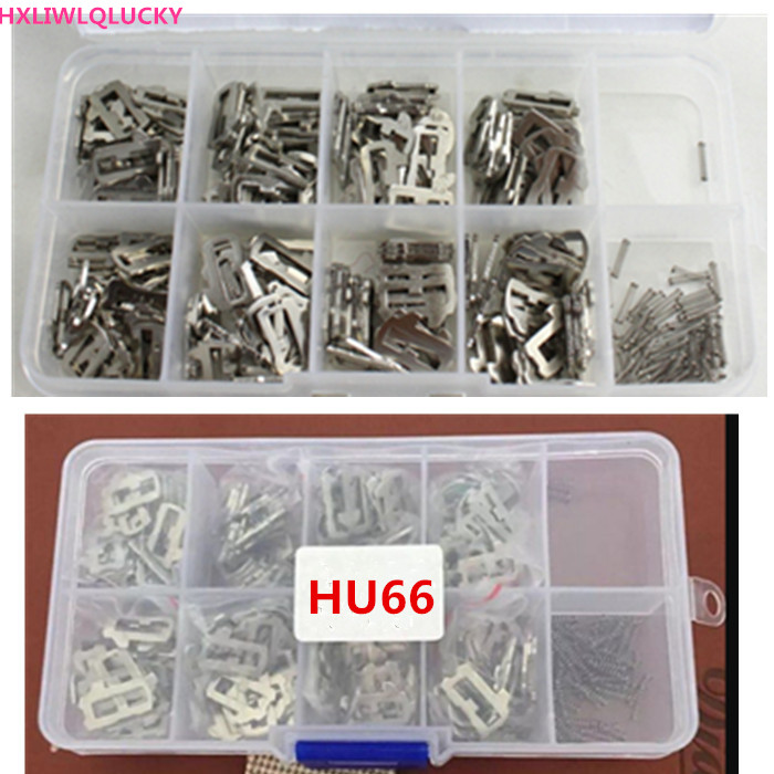 HXLIWLQLUCKY HU66 lock wafer contains 1R 2R 3R 4R 1L 2L 3L 4L each 25pcs for
