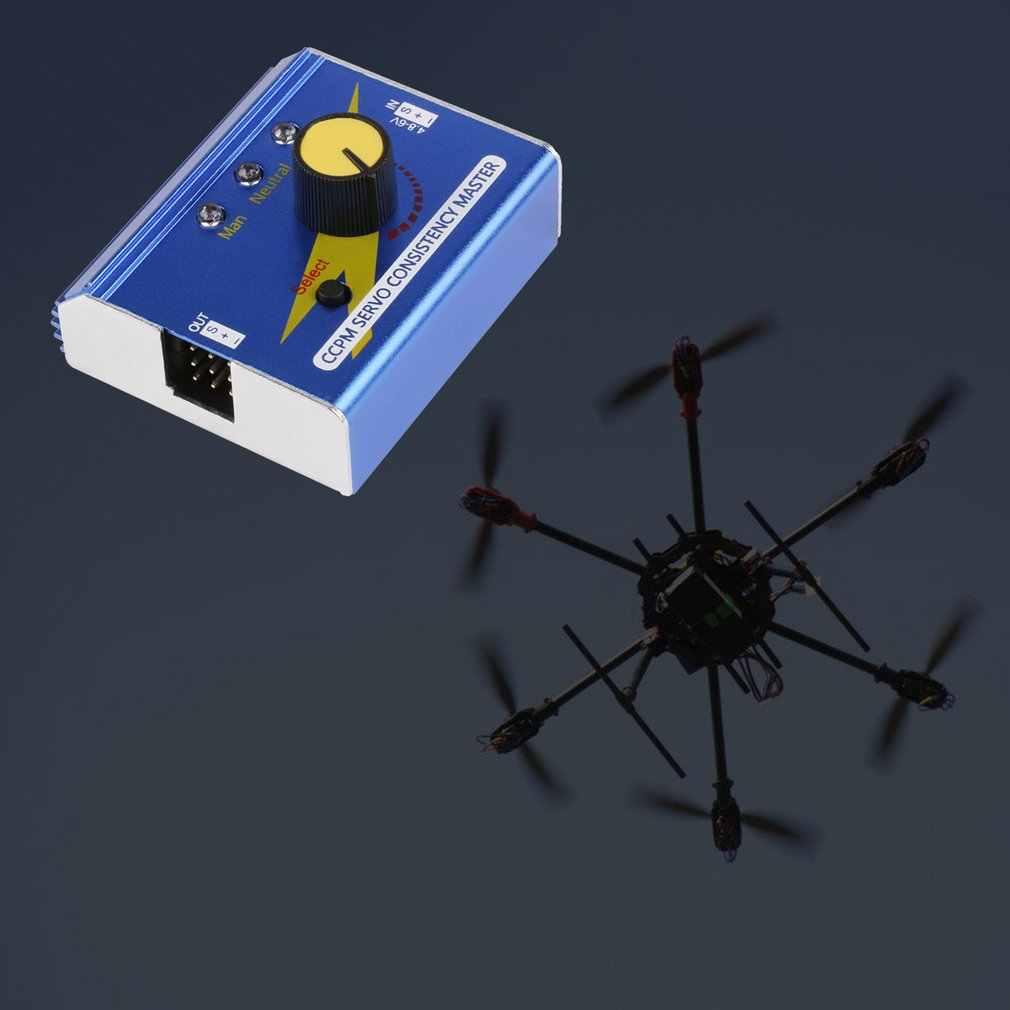 Profesjonalny silnik Servo Tester elektroniczny regulator prędkości kontroler Master dla samolot na radio samochodów łódź RC Servo Tester