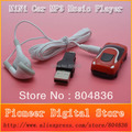 Wholesale Hot sale  mini car style mp3 music player support  Micro SD/TF card with earphone&mini usb free shipping