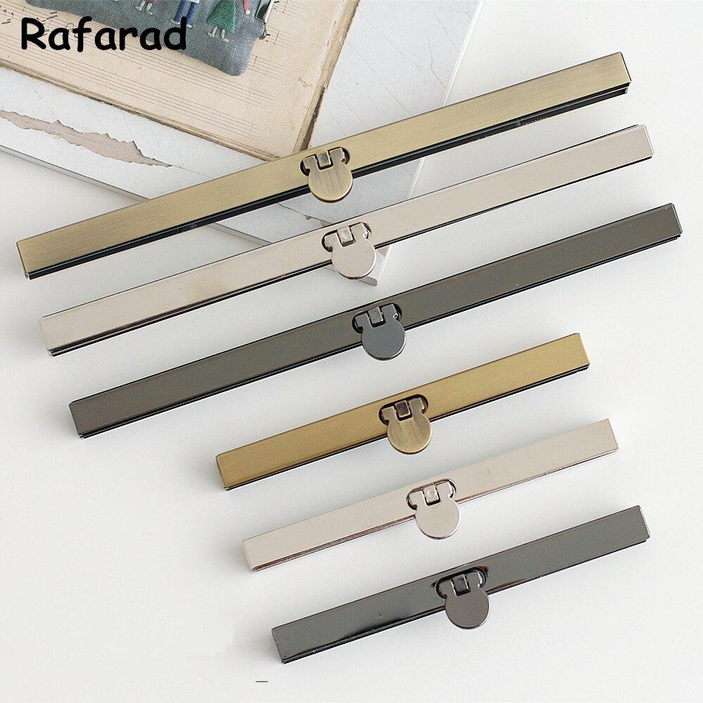 10 Piece Per Lot 11cm And 19 Cm Straight Line Metal Purse Frame DIY Handbag Accessories Fashion Metal Bag Purse Frames Wholesale