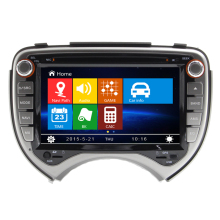 Free Shipping 7 inch Car DVD Player GPS Navigation For Nissan Micra March 2010 2011 with