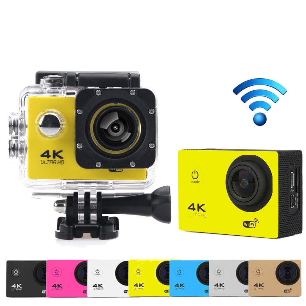 Goldfox Brand H9 Style Mini Action Digital camera DV Ultra HD 4K WiFi 1080P Sport 2.0 LCD camara deportiva go waterproof pro Cam