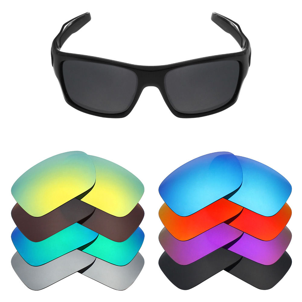 f5b87552795 Mryok Polarized Replacement Lenses for Oakley Turbine Sunglasses Lenses(Lens  Only) - Multiple Choices