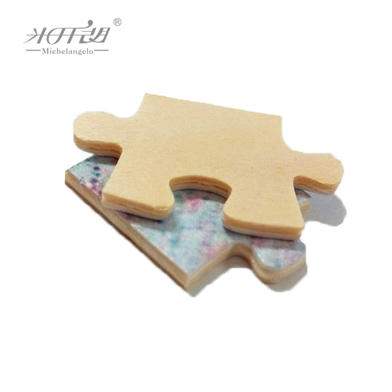 Image 4 - Michelangelo Wooden Jigsaw Puzzles 500 1000 Piece Chinese Old Master Auspicious Peacock Educational Toy Decorative Wall Paintinggift for mother daytoy attachmenttoy donkey -