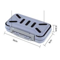 Large Waterproof Fishing Tackle Box Storage Case Fly Fishing Box Fish Lure Spoon Hook Bait Fishing