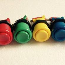 50 шт. американский стиль Кнопка новая модель/28 мм монтажное отверстие американская нейлоновая пуговица 6 цветов /аркадная машина аксессуары