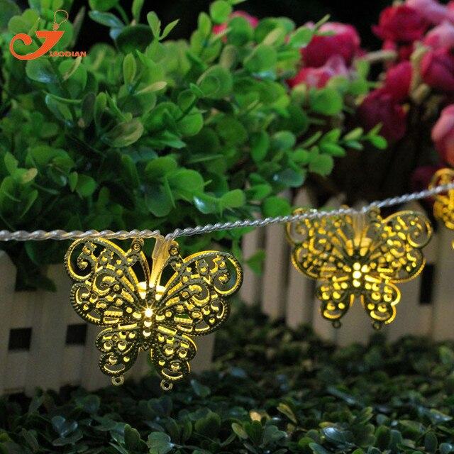 10led gold filigrane schmetterling batteriebetriebene for Decoration fenetre printemps