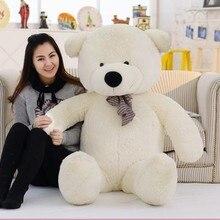 Большой 120 см мягкий хлопок чучело-игрушка медвежонок гигантский коричневый плюшевые медведи, плюшевый Игрушки Детские куклы подружки рождественские подарки