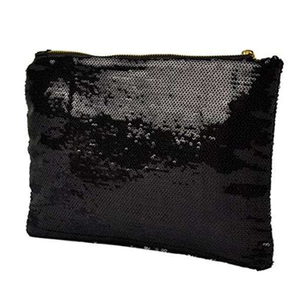 Frauen Glänzenden Pailletten Dazzling Glitter Bling Abend Kupplung Partei Tasche Handtasche Geschenk (schwarz) GroßE Auswahl;