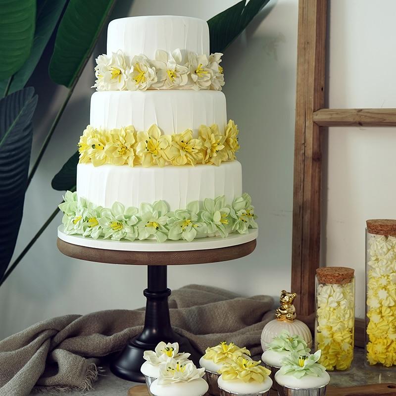 Tre strati di simulazione torta dessert Matrimonio falso torta decorazione della Finestra alta simulazione modello di torta