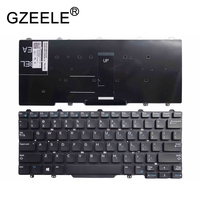 GZEELE Novo Inglês teclado do laptop para Dell Latitude 3340 E3340 E5450 E7450 versão DOS EUA sem quadro 9Z. NB2UC. a01