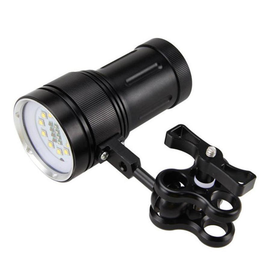 Outdoor 12000LM LED 100 Meters Underwater Diving Flashlight Torch 18650 Battery Cycling Camping Hand Light Fishing Lamp PJ4 outdoor 12000lm led 100 meters underwater diving flashlight torch 18650 battery cycling camping hand light fishing lamp pj4