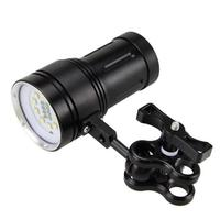 Outdoor 12000LM LED 100 Meters Underwater Diving Flashlight Torch 18650 Battery Cycling Camping Hand Light Fishing Lamp PJ4