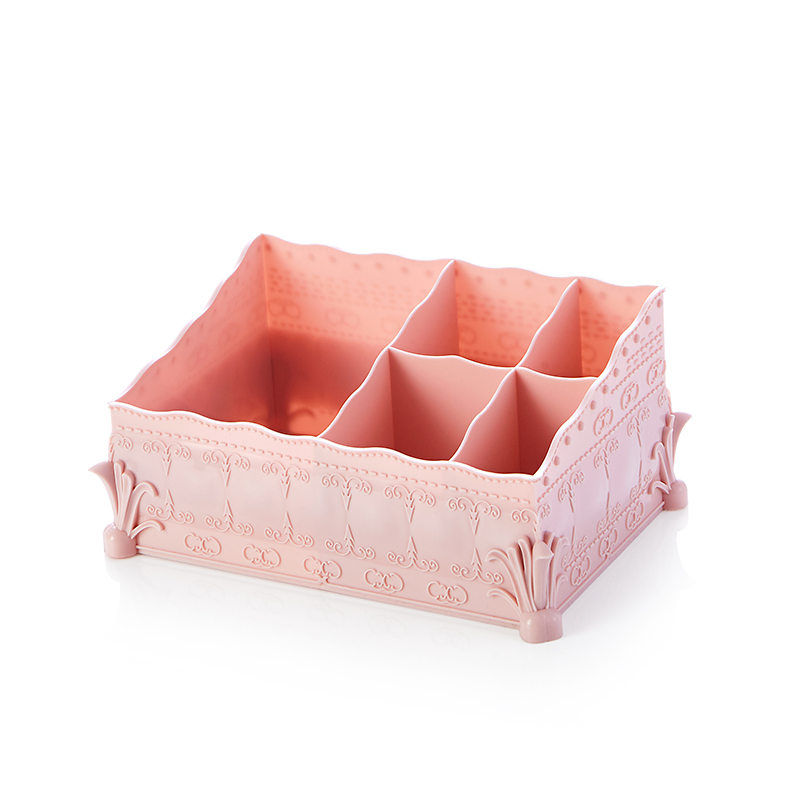 HS040 Multi-function European pattern five cases storage box office stationery box finishing 19.5*14*10cm