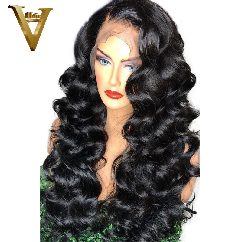 360 Lace Frontal Wig Brazilian Remy Loose Wave Wigs Lace Front Human Hair Wigs For Women