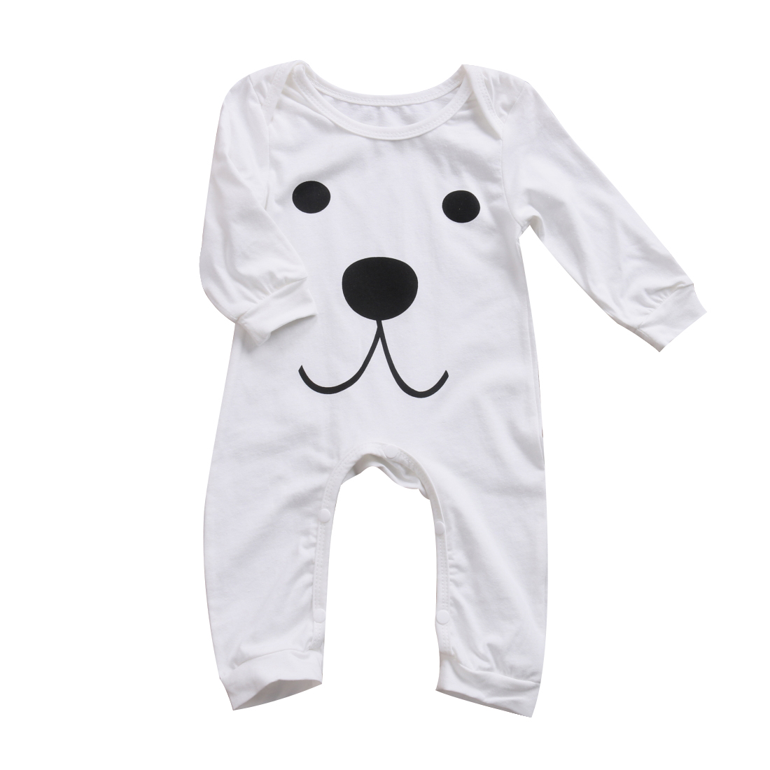 Pudcoco 0-24M Baby Kids Boy Girl Infant Cute Romper Jumpsuit Playsuit Baby Casual Clothes Cotton Outfits