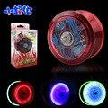 Alta Calidad Luminosa shinning joyas Bola Mágica del yoyo yoyo profesional Yo-yo de juguete brinquedo con 3 Rodamientos Malabares juguetes de los niños