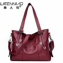 LIRENNIAO Sac femme Designer-handtaschen Hohe Qualität luxus Frauen Leder tasche handtaschen frauen berühmte marken Crossbody Taschen für 2017