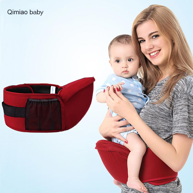 Infant Ergonomic Baby Carrier Sling Waist Stool Multifunction Baby Hipseat Soft Big Stool Surface 0-36month Newborn Care Tool ...