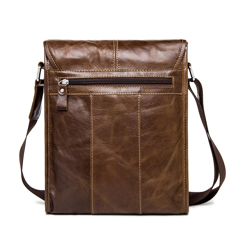 OTHERCHIC Genuine Leather Retro Men Bags Brand Designer Handbags Shoulder Vintage Cow Crossbody Bags Men Messenger Bags 7N04-21