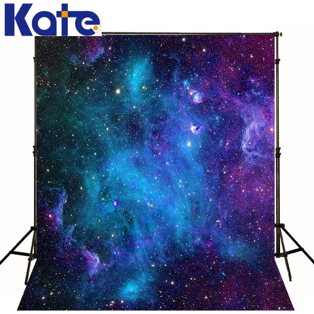 10x20FT Kate Photography Backdrops 광대 한 우주 배경 Photo Studio Sky Night Kid 사진 배경