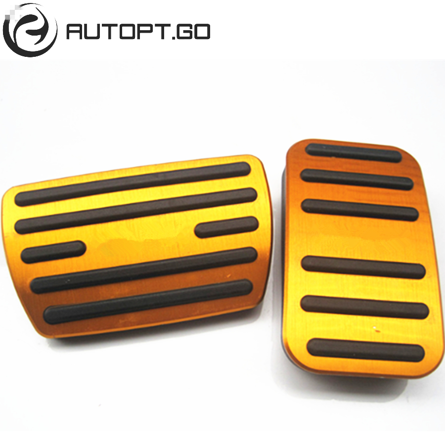 Blue Non Slip Car Accelerator Gas Brake Foot Pedal Pad Cover Replacement Kit Fit For 2017 17 Honda CRV in Pedals from Automobiles Motorcycles
