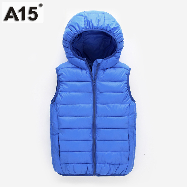 Vest Kinderkleding.A15 Kinderen Winterjassen Jongens Licht Eend Donsjack Voor Meisjes