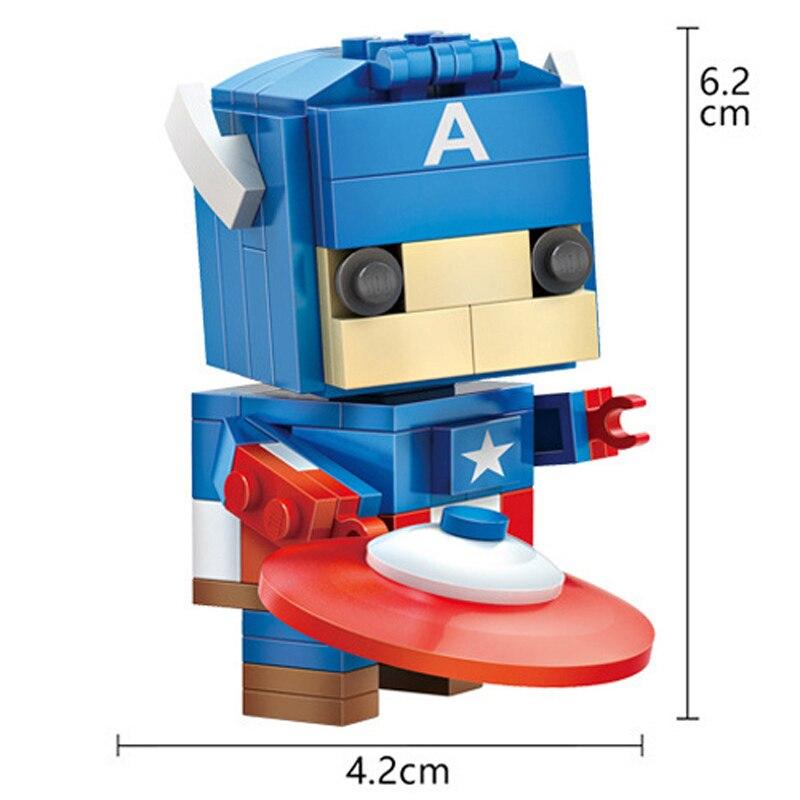 dječje igračke željezo čovjek blok anime spiderman akcijska - Izgradnja igračke - Foto 3