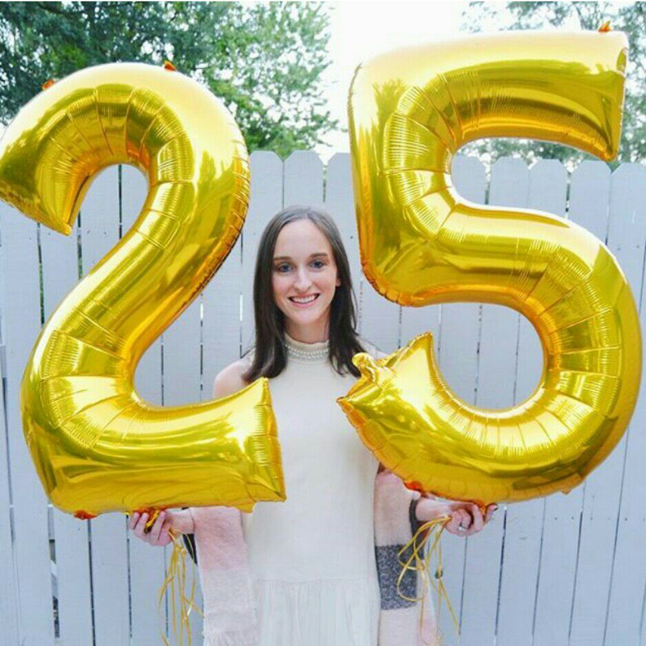 2pcs-32-40-Big-Size-Number-25-years-old-foil-helium-balloons-Adults-party-rose-gold