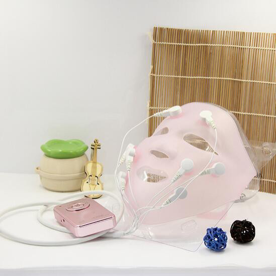 New hot Charge professional vibration Facial massage Quick face lift mask /ace lift belt facial massage Electric mask surface