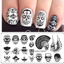Art Templates Manicure Stainless Steel Stamping