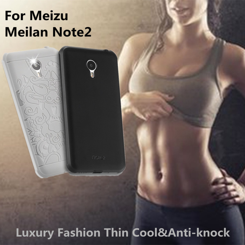 Hot! Luxury phone case For meizu meilan note 2 case soft silicone 360 screen&camera protective back cover for meilan note2 case
