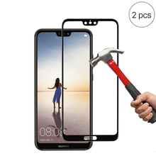 For Huawei P20 Lite Tempered Glass Film for Huawei P20 Pro 9H Hardness Full Cover Screen Protector Glass for Huawei P20 Film цена