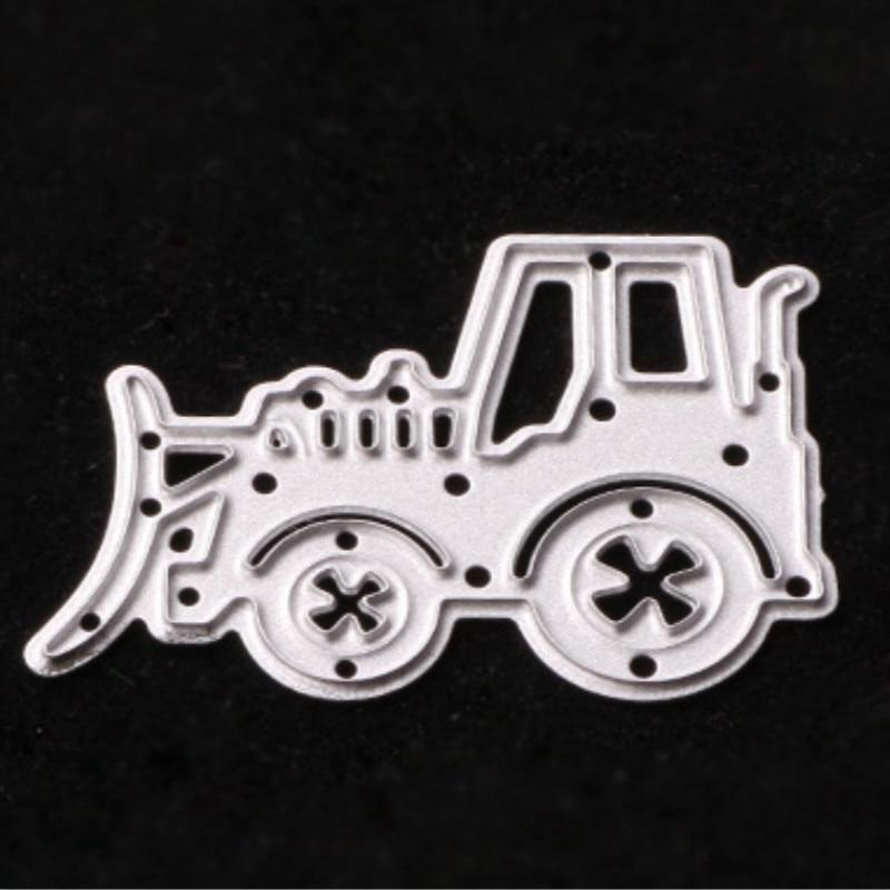 Էքսկավատոր մետաղական կտրող մեքենաներ կտրում են գրանցամատյանները դաջված թղթապանակի կոստյում sizzix fustella- ի մեծ կրակոցի մեքենայի համար LUHONGPART