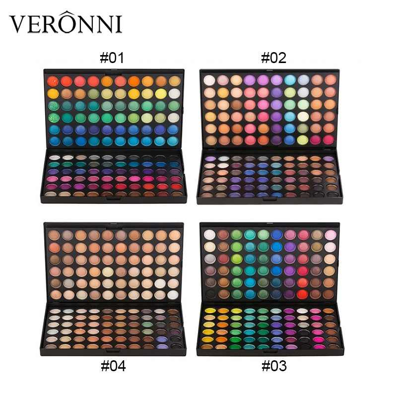 120 Colors Glitter Eyeshadow Palette Matte Eye Shadow Palette Shimmer pigment Nude Make Up new Cosmetic Palette Eyeshadow Set