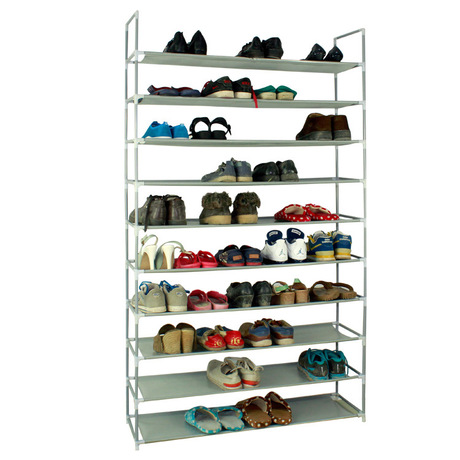 Schoenenrek 100 Cm.Us 211 59 8 Off Shoe Cabinets Shoe Rack Shoe Organizer Home Furniture Assembly Steel Hogar 175 100 28 Cm Sapateira 10 Layers Rangement Chaussure In